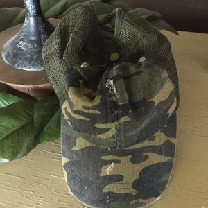 Accessories - CAMO ball cap